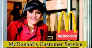 McDonalds Customer Service