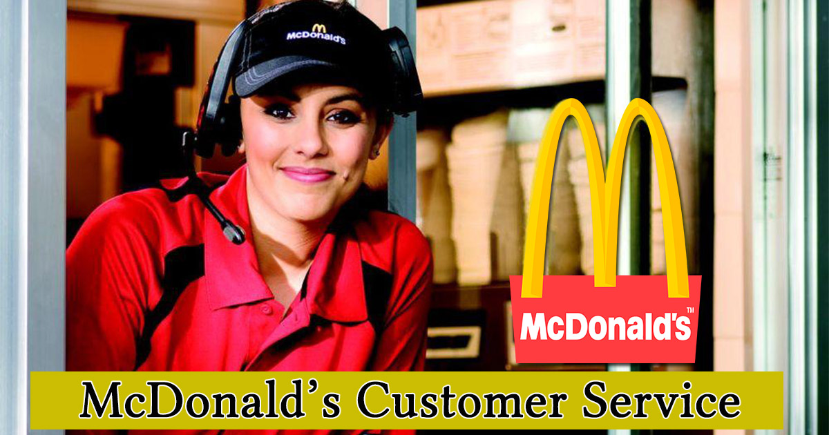 McDonalds Customer Service