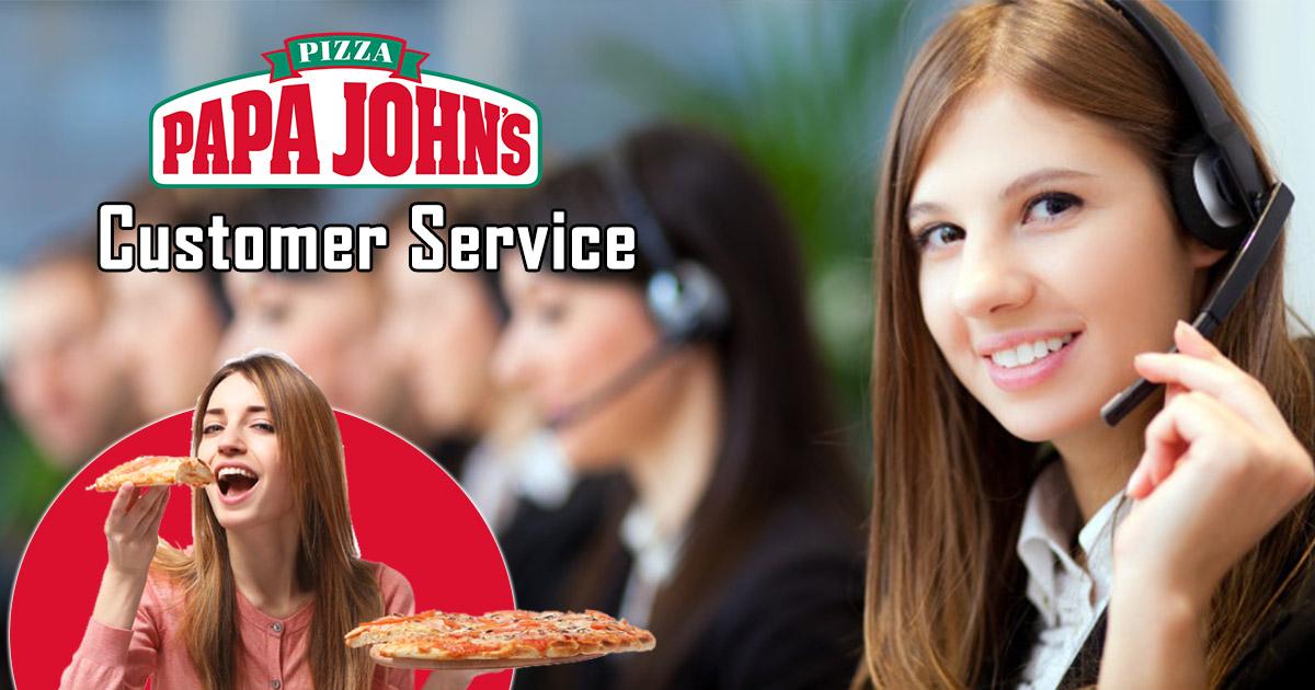 Papa John's Customer Service
