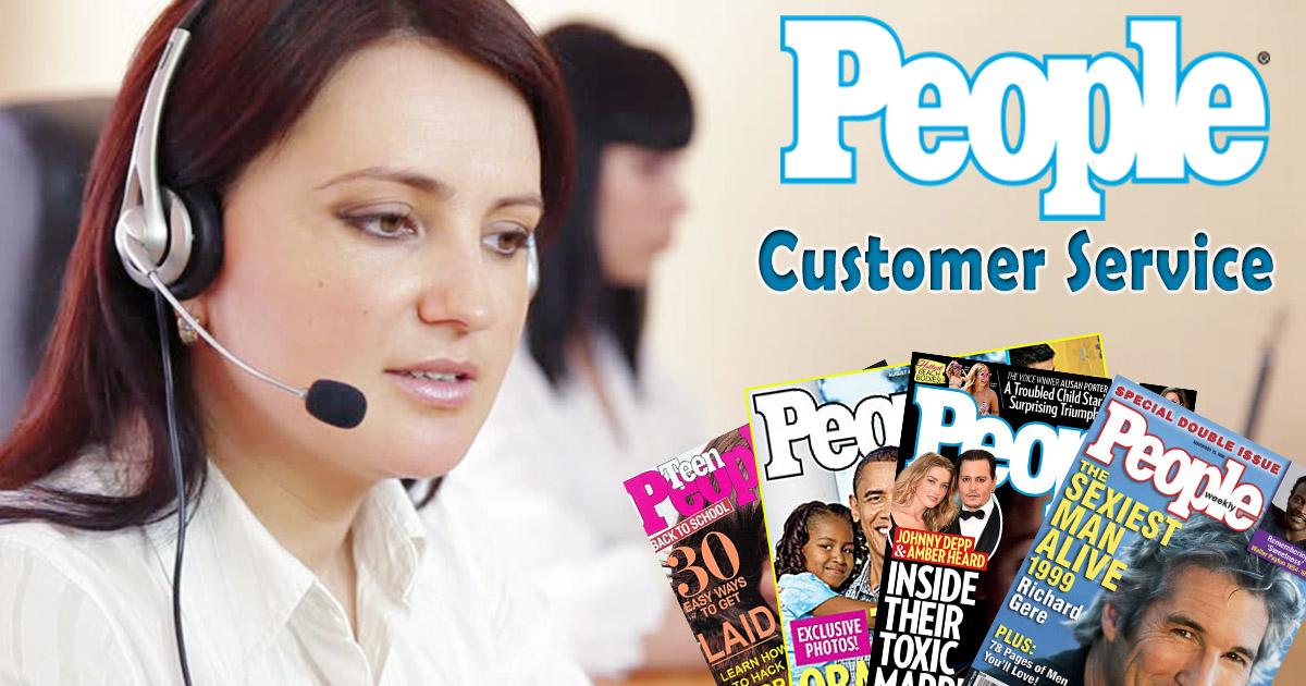 People Magazine Customer Service