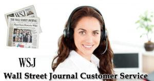 Wall Street Journal Customer Service