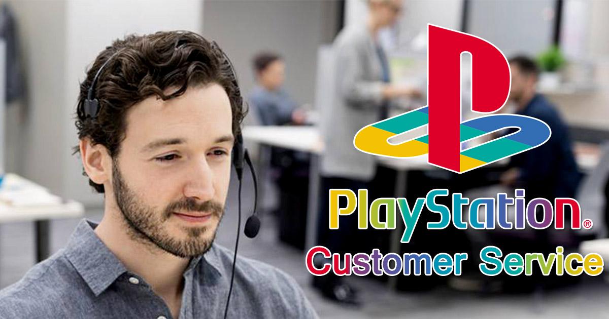 playstation customer service image