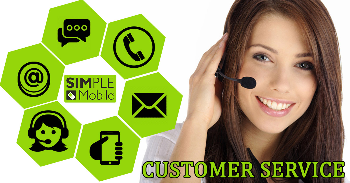 simple mobile customer service image