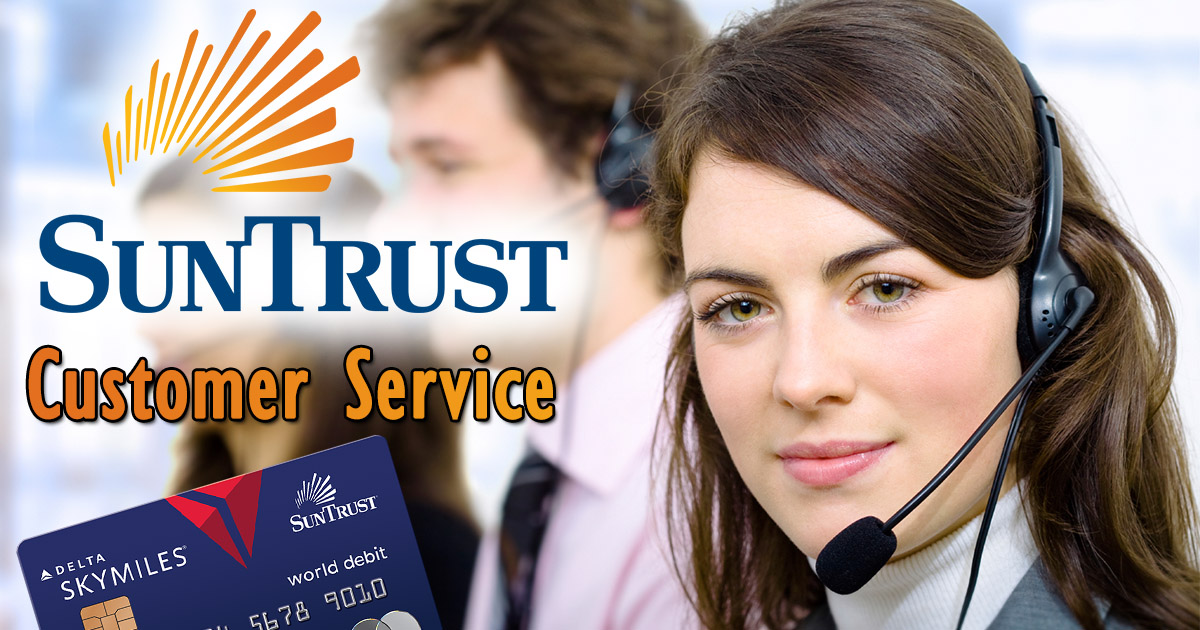 Suntrust Customer Service Image