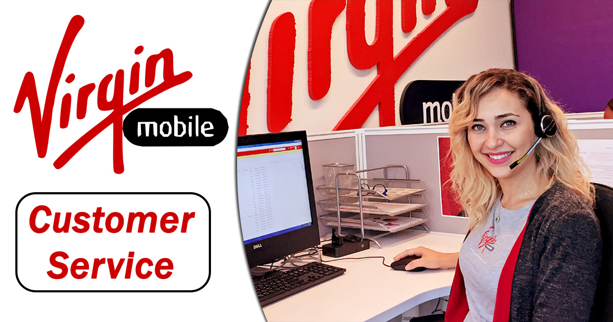 virgin mobile customer service image