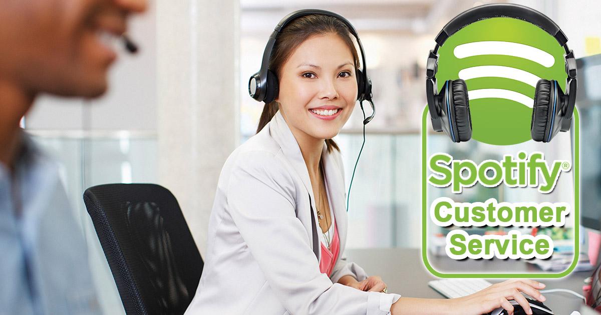Spotify Customer Service Image