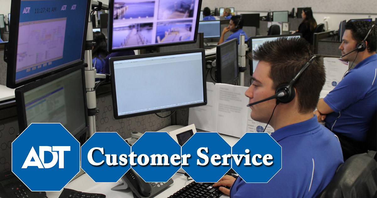 ADT customer service image