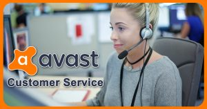 Avast customer service image
