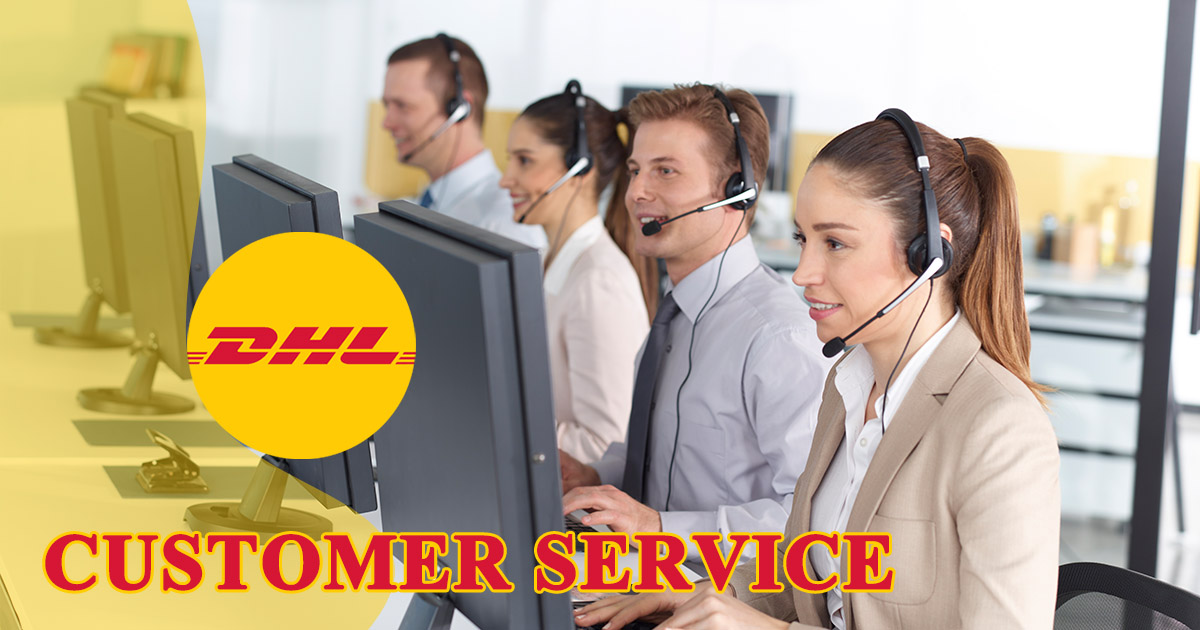 DHL Customer Service Image