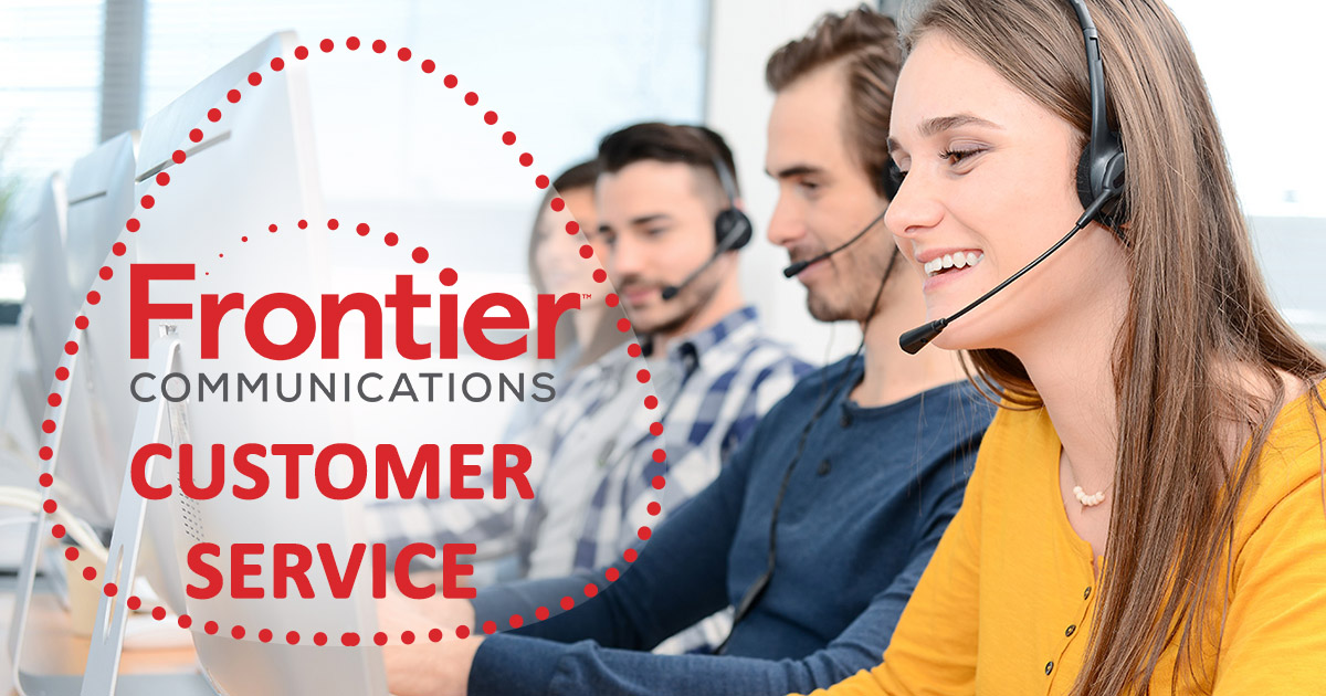 Frontier Communications customer service image