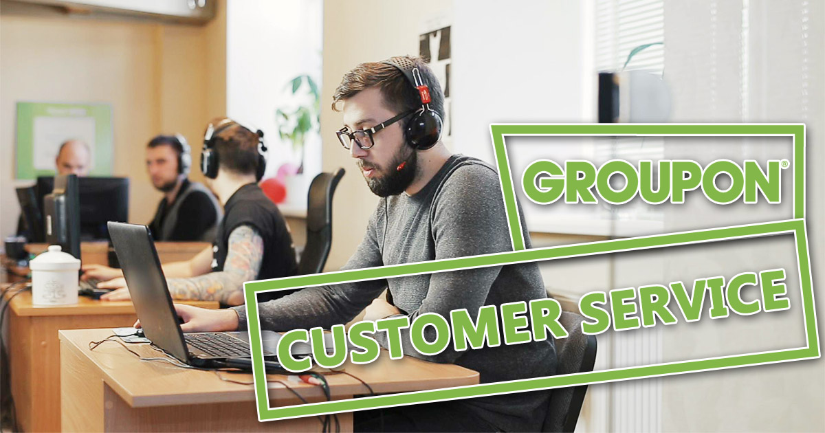 Groupon Customer Service Image