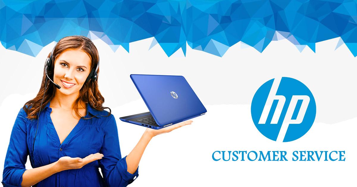 HP customer service image