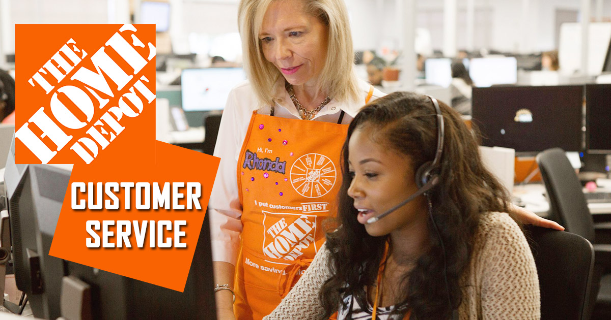 Home Depot Customer Service Image