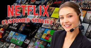 Netflix customer service image