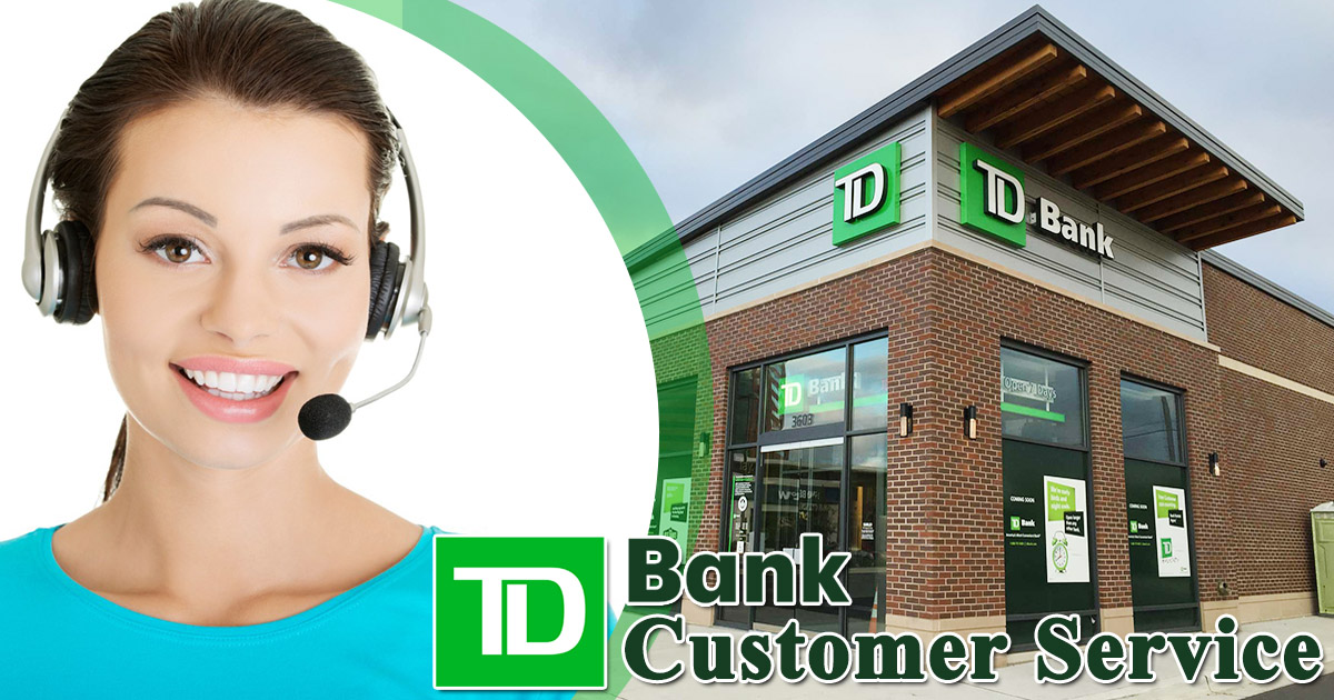 TD Bank customer service image