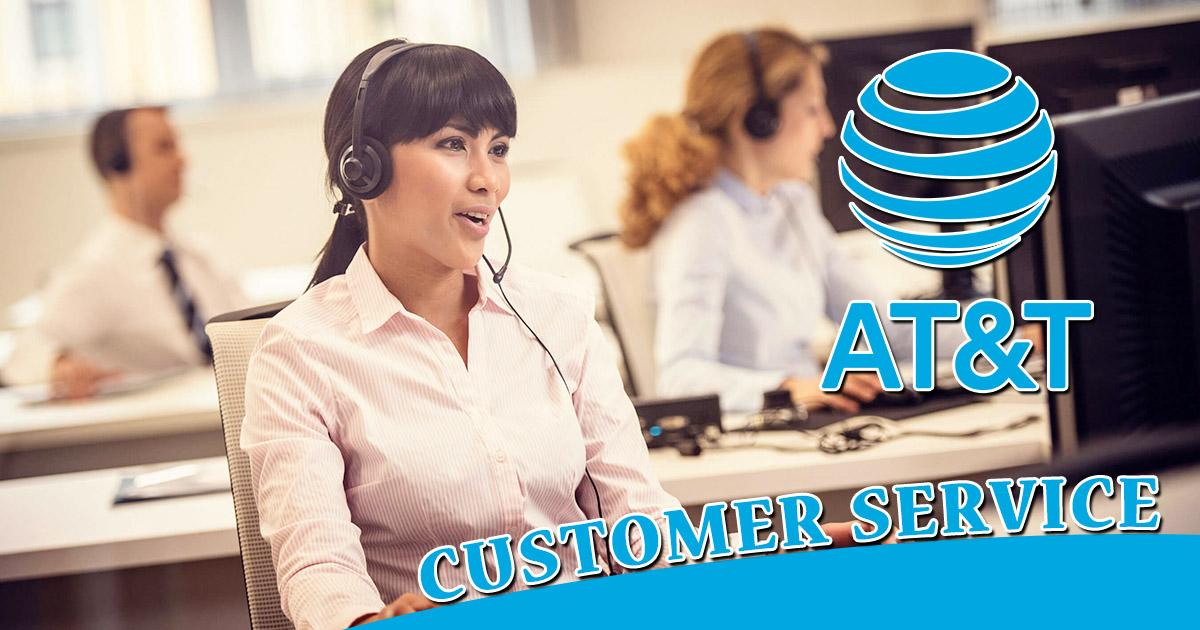 at&t customer service image