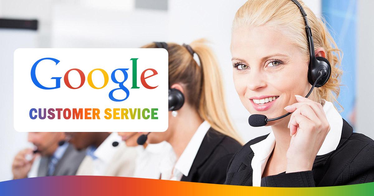 google customer service image