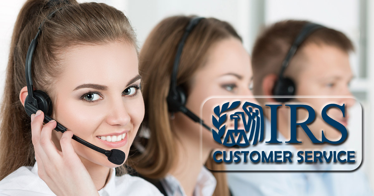 irs customer service image