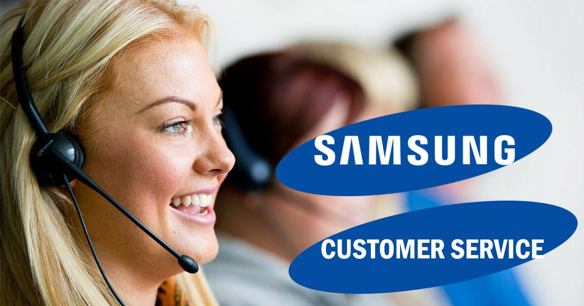 samsung customer service image