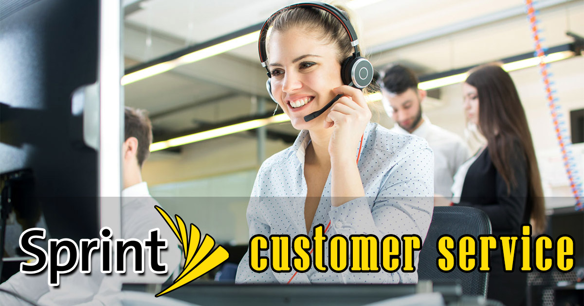 sprint customer service image