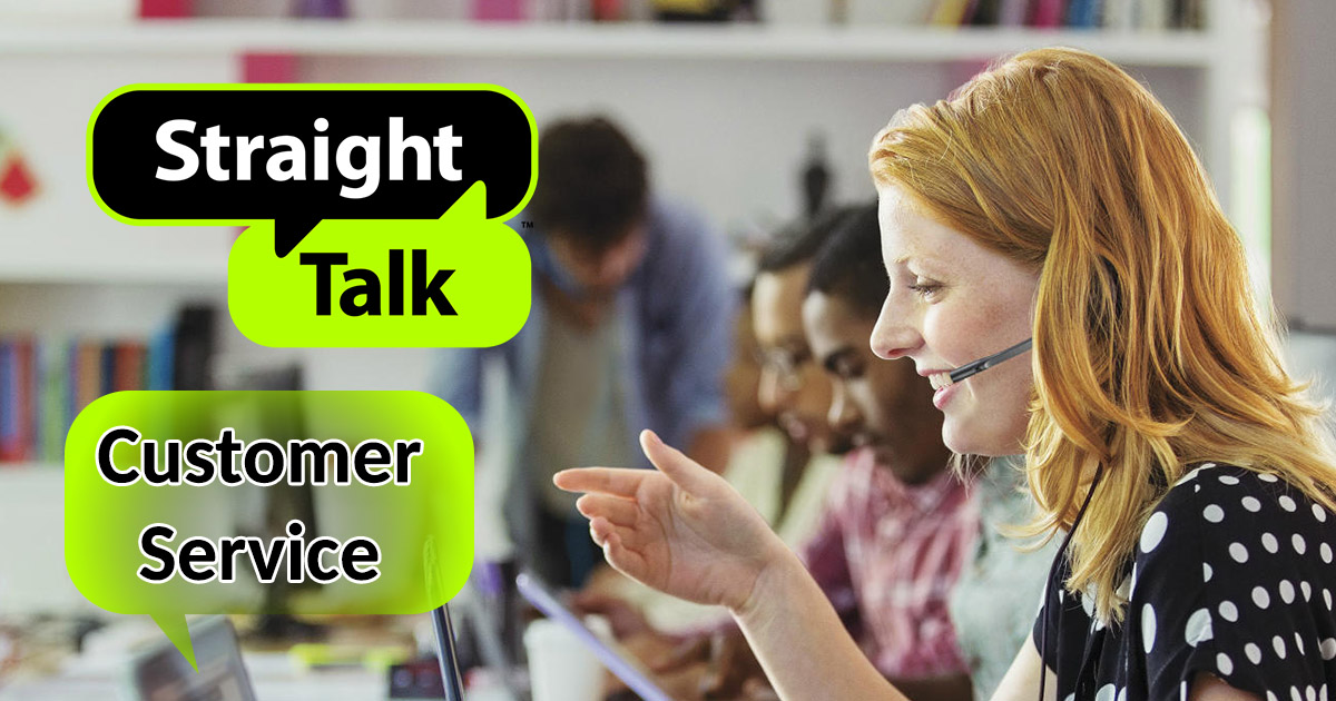 straight talk customer service image