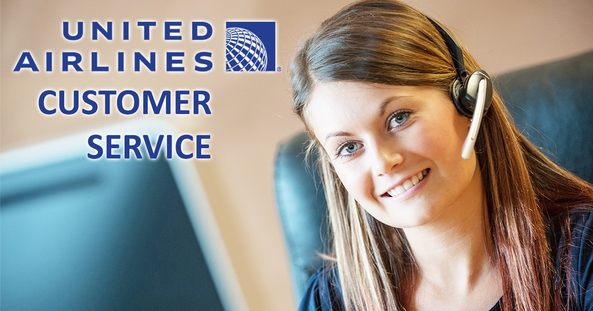 United Airlines Customer Service Image